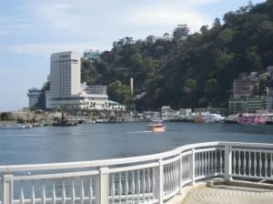 熱海の景色。
