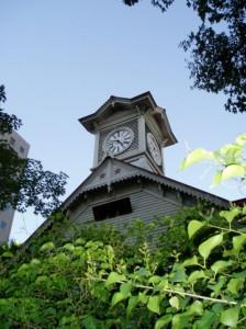 札幌と言えば時計台。