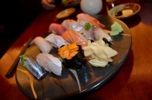 北海道のお寿司は格別。